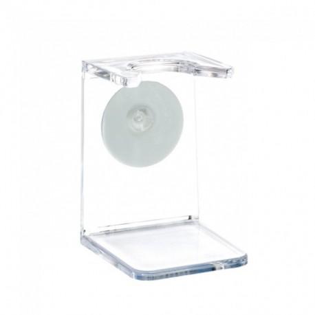 Muhle - Porta pennello in plexiglass trasparente