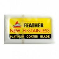 FEATHER - Lame per rasoio di sicurezza - confezione da 10 lamette