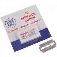MERKUR - Lame per rasoio di sicurezza - confezione da 10 lamette