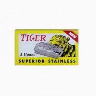 TIGER - Lame per rasoi di sicurezza tradizionali - confezione da 5 lamette