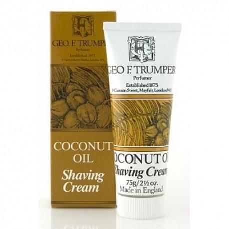 Geo F. Trumper - Coconut Oil Shaving Cream Tube - 75 gr.