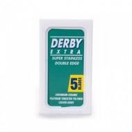 DERBY - Lame per rasoio di sicurezza - confezione da 5 lamette