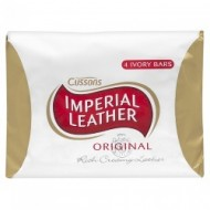 IMPERIAL LEATHER - Original Soap - 4x100 gr