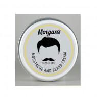 MORGAN'S Moustache & Beard Cream - 75 ml Alluminium Tin