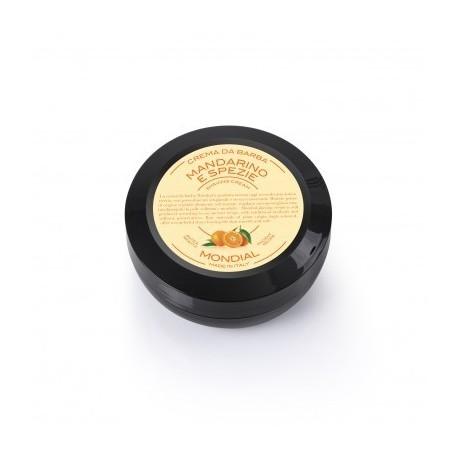 MONDIAL - Crema da barba Mandarino e Spezie in versione travel -  Vasetto da 75 ml