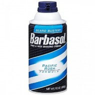 BARBASOL  Shaving Cream PACIFIC RUSH -  Schiuma da Barba - 283 gr