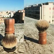 Pennello da Barba PENNELLO n° 3 di Roberto Cavallo -Tasso Silver Tip Badger