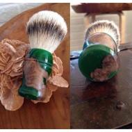 Pennello da Barba PENNELLO n° 2 di Roberto Cavallo -Tasso Silver Tip Badger
